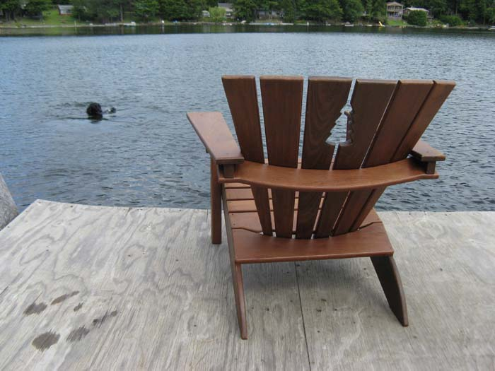 I Built An Ipe Adirondack Chair Last Month, Using The Plan From Wood  Magazine, Issue #149. Nice Plan, But A Bit Complicated...especially Using  Ipe.