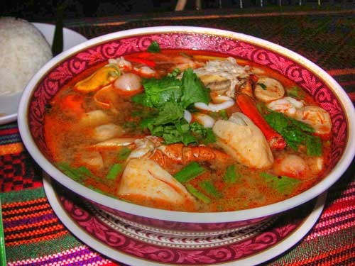 Clay 39 s kitchen tam ra ahan thai thai recipes for Thai fish soup