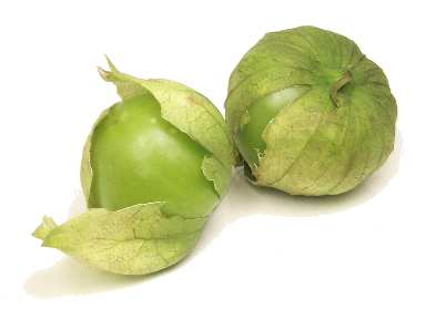 Tomatillos...  Cabots mouth might be watering as we speak thinking about them...
