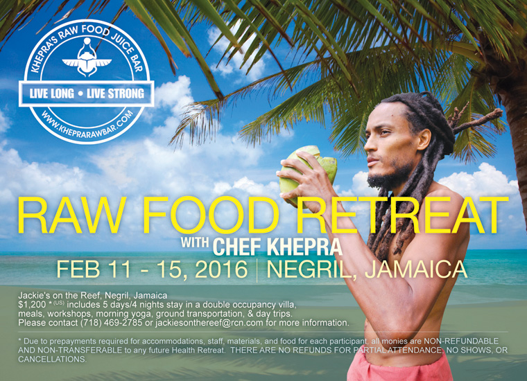 Raw Food Front workshop