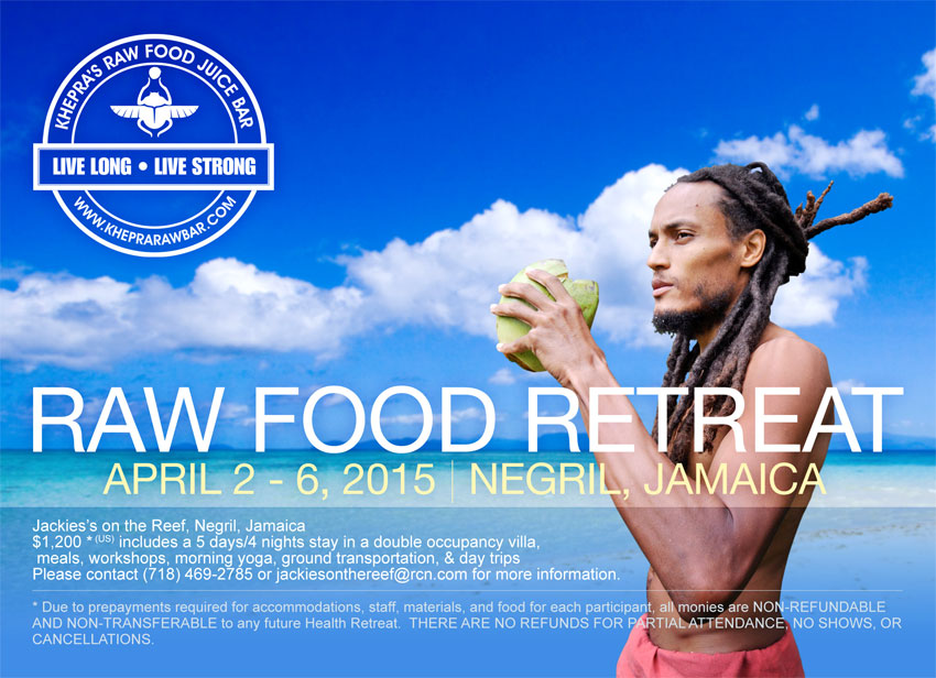 raw food front workshop