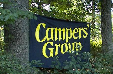 [Campers' Group's banner]