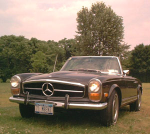 For Sale 1971 Mercedes 280sl