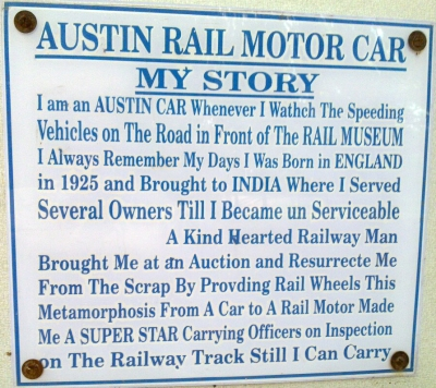 History of Austin car, transcribed below