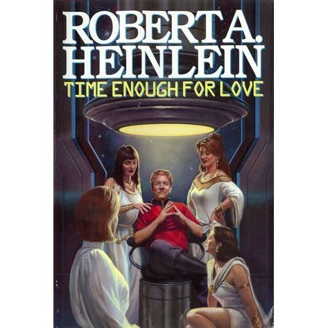 book covere: Heinlein's Time Enough for Love
