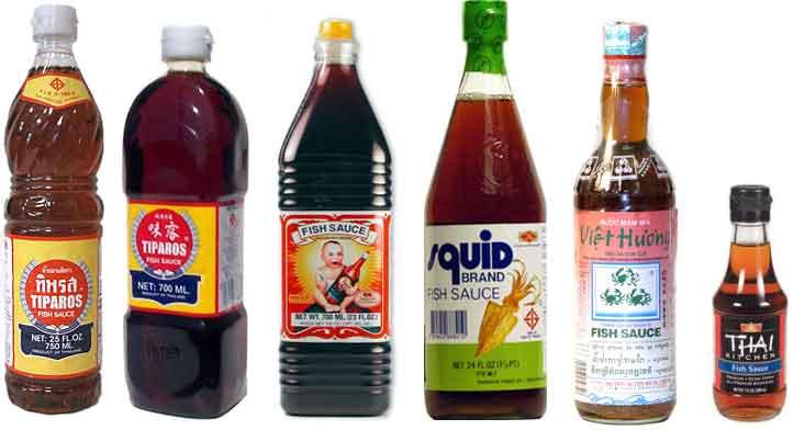 Fish sauce brands