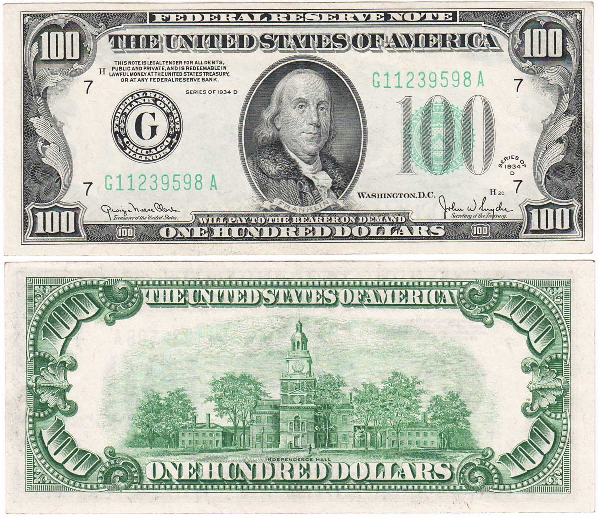 It is an image of Printable 100 Dollar Bill Actual Size within real